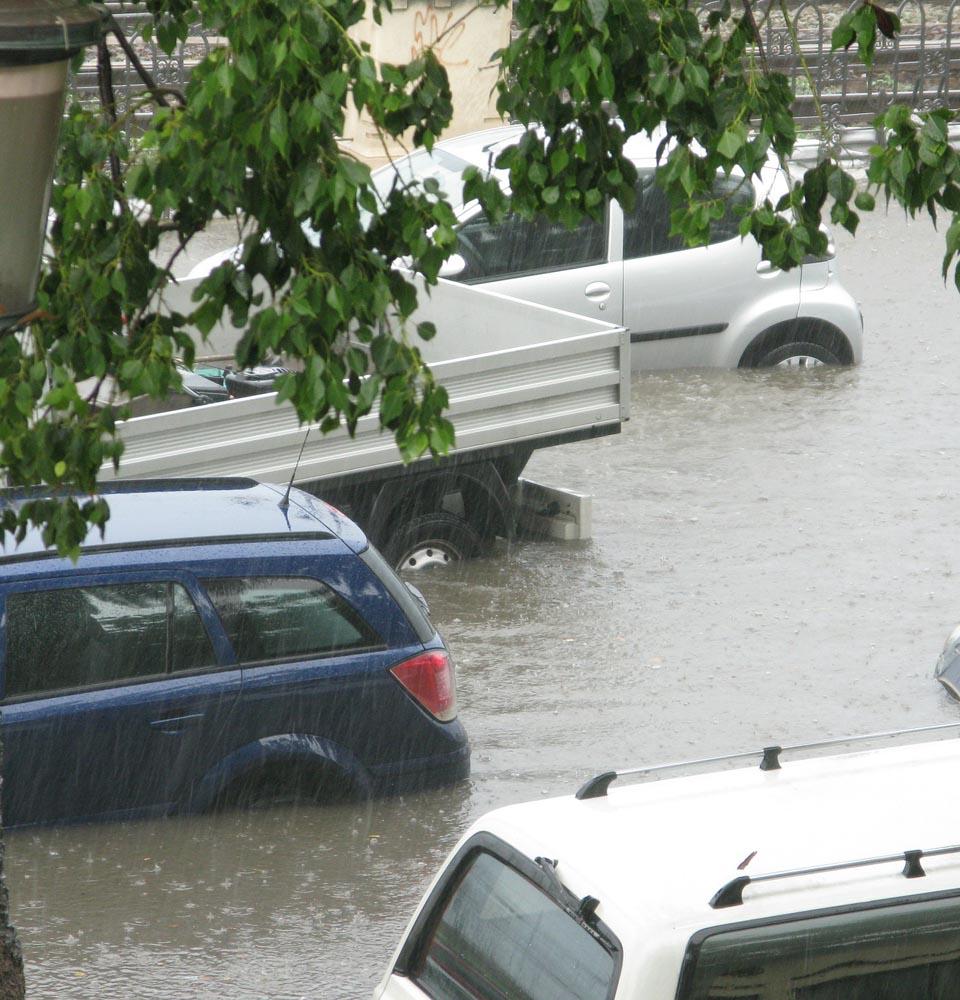 Ein Segen gegen Regen